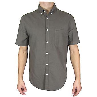 Topman Khaki Short Sleeve Shirt TP494-XXS
