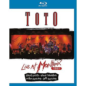 Toto - Live at Montreux 1991 [Blu-ray] USA import