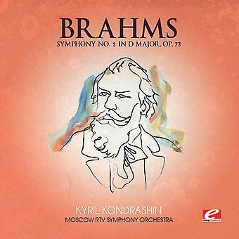 J. Brahms - Brahms: Symphony No. 2 in D Major, Op. 73 [CD] USA import