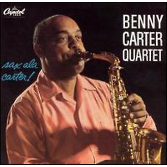 Benny Carter - Sax een La Carter [CD] USA import