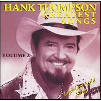 Hank Thompson - Hank Thompson: Vol. 2-Greatest Songs [CD] USA import