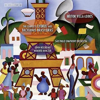 Soloists/Sao Paulo So - Villa-Lobos: The Complete Choros and Bachianas Brasileiras [CD] USA import