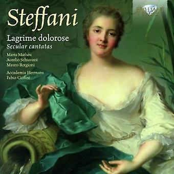 A. Steffani - Steffani: Lagrime Dolorose: Secular Cantatas [CD] USA import