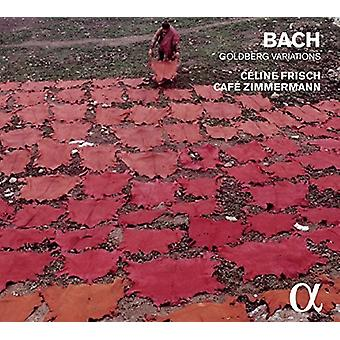 Frisch, Celine / Cafe Zimmermann - Lisbeth Bach: Goldberg-variationer [CD] USA import