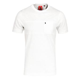 Luke 1977 Symonds Lux Delacrem White Pique T-Shirt