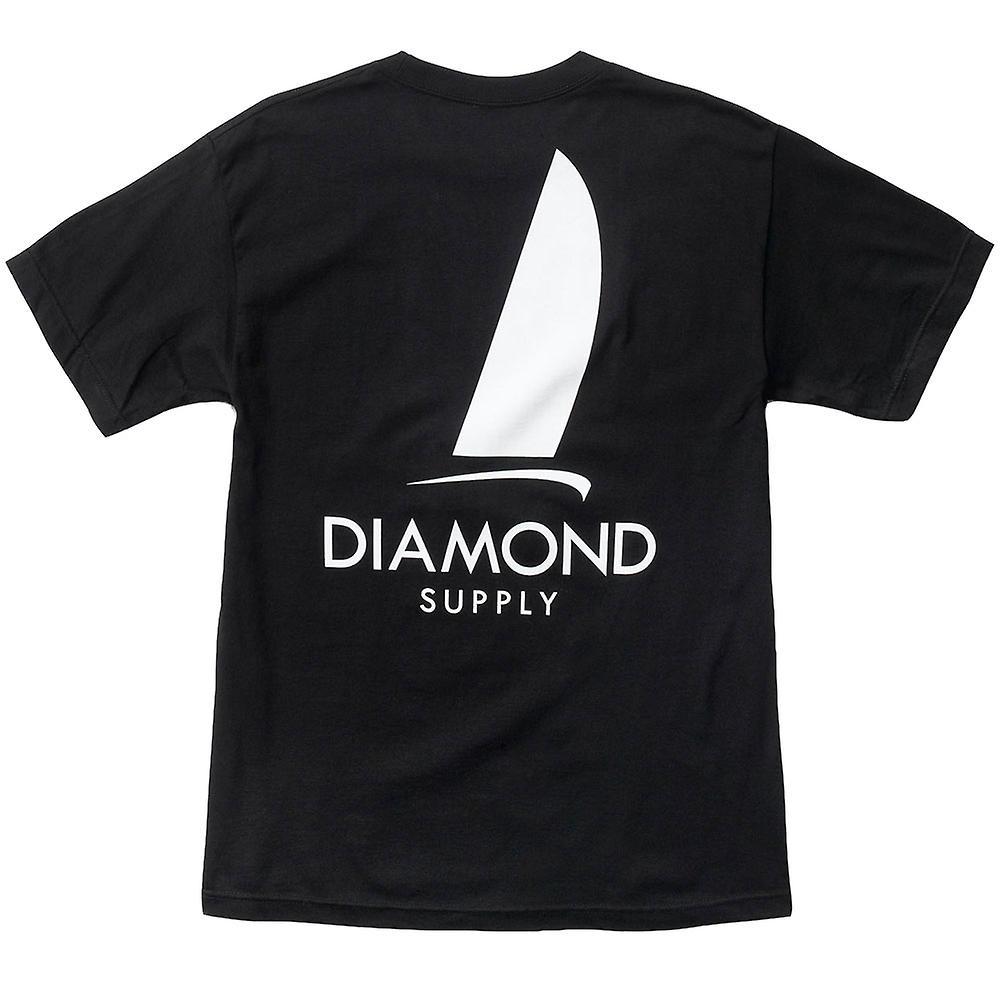 Diamond Supply Co Boat Life T-shirt Black