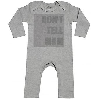 Spoilt Rotten Don't Tell Mum Baby Footless Romper