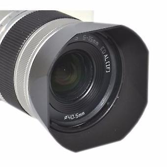 JJC replacement Pentax RH-SBA 40.5 Lens Hood for PENTAX Q Standard ZOOM 5-15mm f/2.8-4.5
