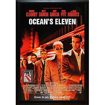 Ocean's Eleven - Signed Movie Poster