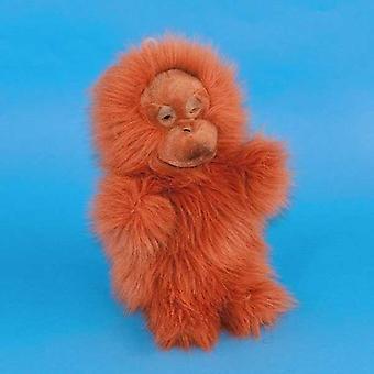 Dowman Orangutan burattino di mano peluche 28cm (RBP25)