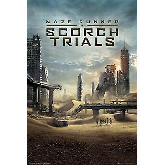 Maze Runner 2 - Scorch-Studien-Poster-Plakat-Druck