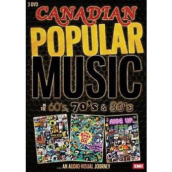 Canadian Pop Music in the 1960's 70's & 80's [DVD] USA import