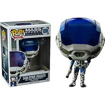 Mass Effect Andromeda Sara Ryder Masked Exclusive Pop! Vinyl Figure Funko #186