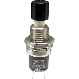 Pushbutton 250 V AC 1.5 A 1 x On/(Off) SCI R13-24B