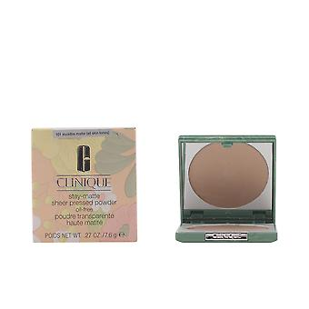 Clinique Stay Matte schiere Pulver unsichtbar Matte 7.6gr Make Up Damen
