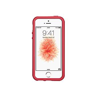 OtterBox Symmetry Series-mobile phone Cover-polycarbonate, synthetic rubber-Scarlet-for Apple iPhone