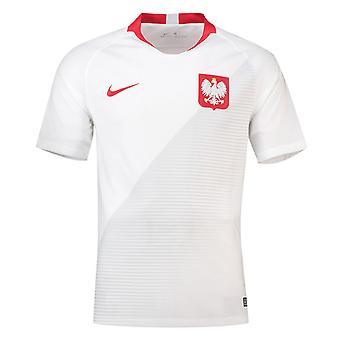 2018-2019年ポーランド ホーム ナイキ サッカー シャツ