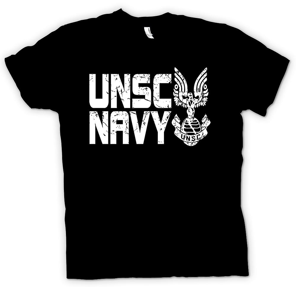 Womens T-shirt - UNSC Navy Logo - Gamer