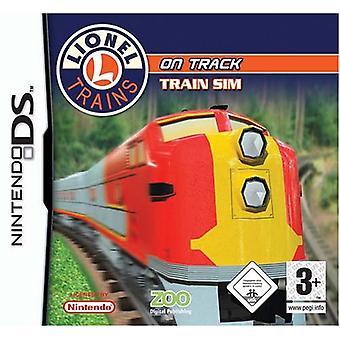Lionel treinen op Track (Nintendo DS)