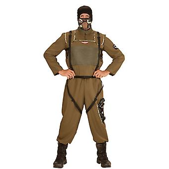 Special Forces Parachuter (Overalls Vest Hood)