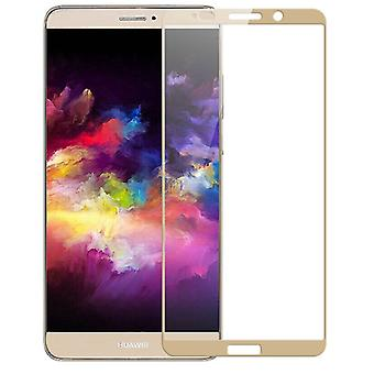Premium 0.3 mm bent H9 tempered glass gold foil for Huawei Mate 10 Pro new