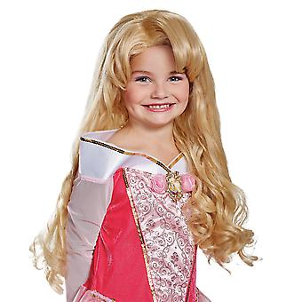 Aurora Deluxe Sleeping Beauty Disney Princess Book Week Girls Costume Wig
