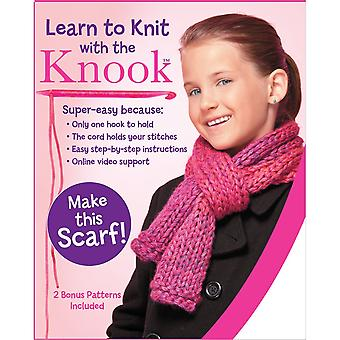 Learn To Knit With The Knook Kit-Scarf