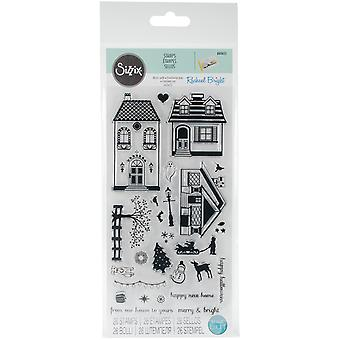 Sizzix Clear Stamps door Rachael Bright-Happy Home