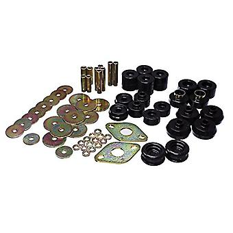 Energy Suspension 8.4111G Body Mount Set Black Body Mount Set