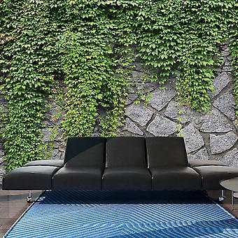 Behang - groene muur