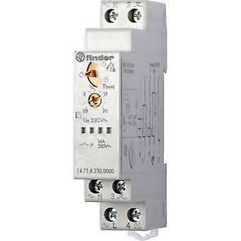 Finder 14.71.8.230.0000 Staircase multiway switch Multifunction 230 V AC 1 pc(s) ATT.FX.TIME-RANGE: 30 s - 20 min 1 make