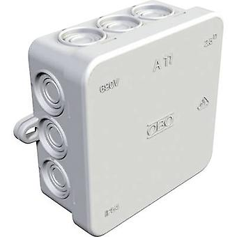 OBO Bettermann 347114008 Junction box (L x W x H) 85 x 85 x 40.5 mm Light grey IP54