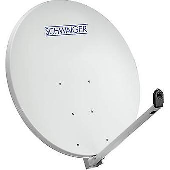 Schwaiger SPI1000.0 SAT-Antenne 97 cm reflektierendes Material: Aluminium Light Grey