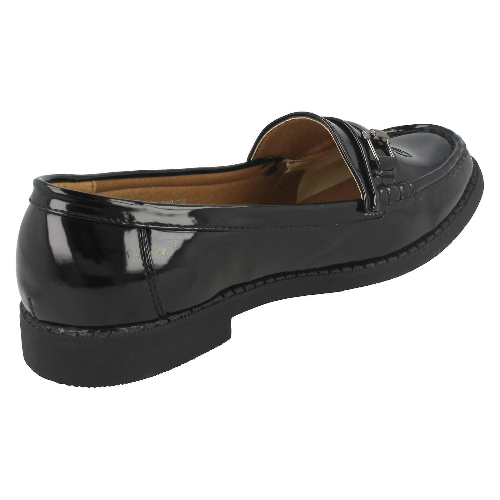 Shoes Loafer Ladies Ladies Spot On Spot On Loafer 6qww0YO4