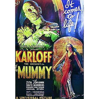The Mummy Poster  Boris Karloff (Italian)