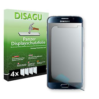 Samsung Galaxy S6 screen protector - Disagu tank protector protector (deliberately smaller than the display, as this is arched)