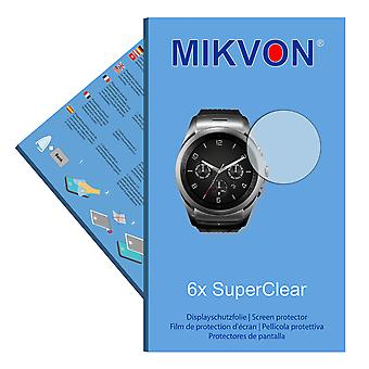 LG Watch Urbane screen protector- Mikvon films SuperClear
