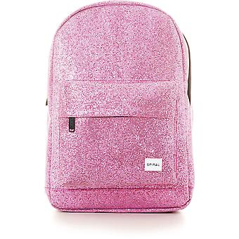 Spiral Glitz Mesh Backpack Bag