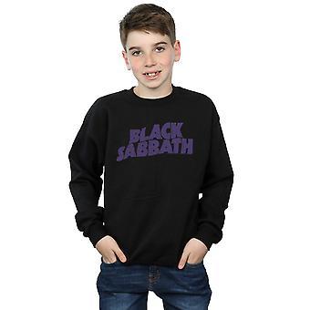Black Sabbath gutter Distressed Logo Sweatshirt