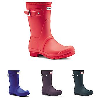 Womens Hunter Original kort vinter regn Wellies vattentät gummi stövlar Storbritannien 3-9