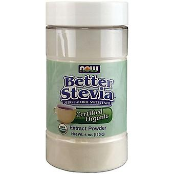 Now Foods BetterStevia Extract Powder Organic 113 gr (Diet , Sweeteners)