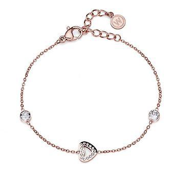 Oliver Weber Bracelet Love acier cristal