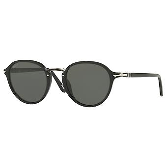 Persol 3184S Small black polarized Green