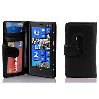 Cadorabo Case for Nokia Lumia 920 Case Cover - Phone Case with Magnetic Closure and 3 Card Slots - Case Cover Case Case Case Case Book Folding Style