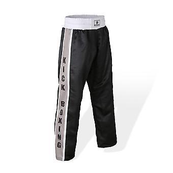 Bytomic siatka Kickboxing Spodnie Black/Grey