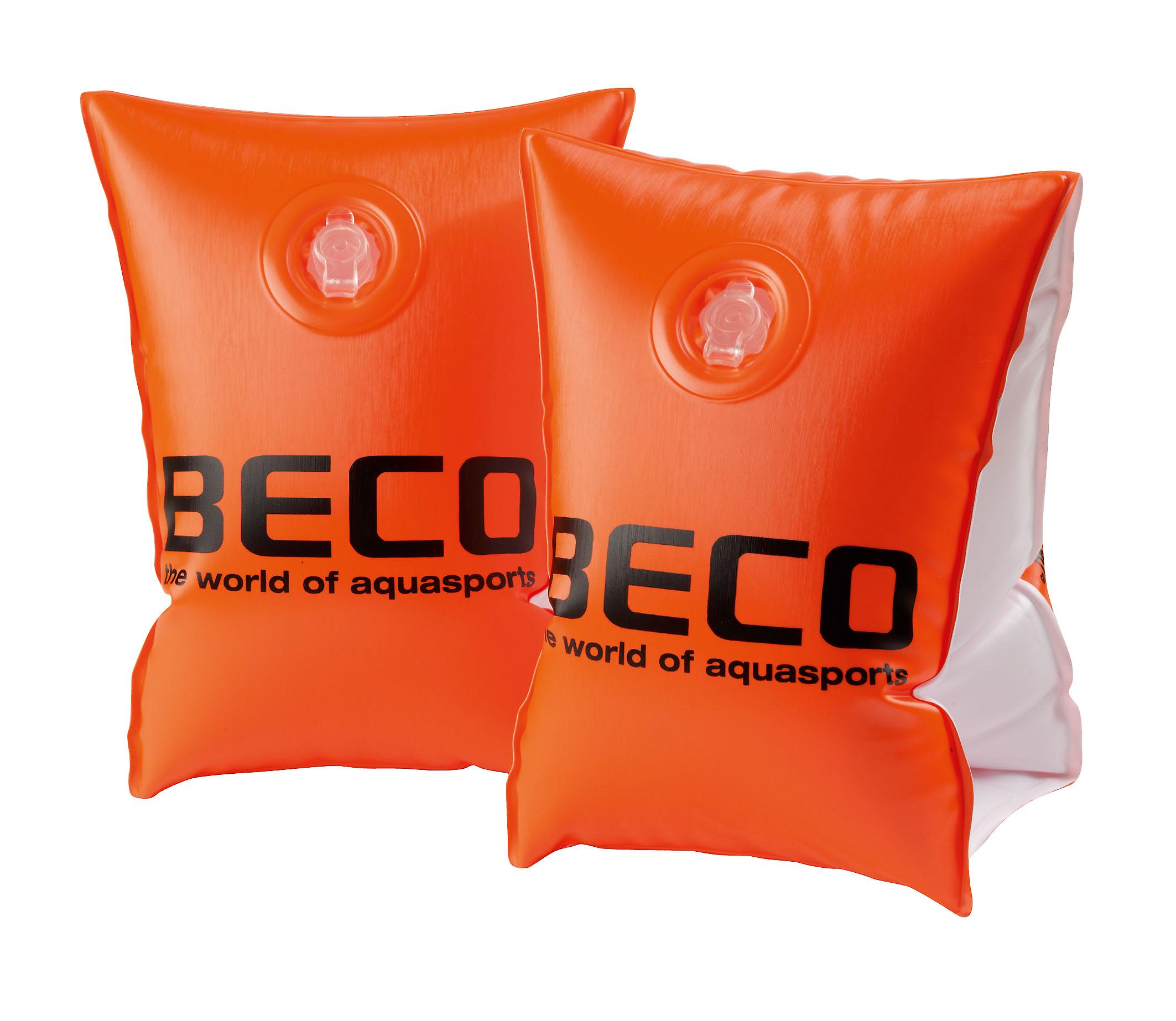 BECO Swimming Arm Bands for Adults - Orange