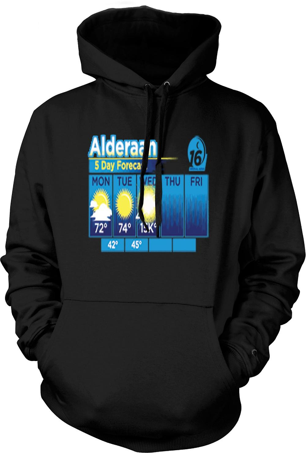 Kids Hoodie - Alderaan 5 Day Weather Forcast - Star Wars