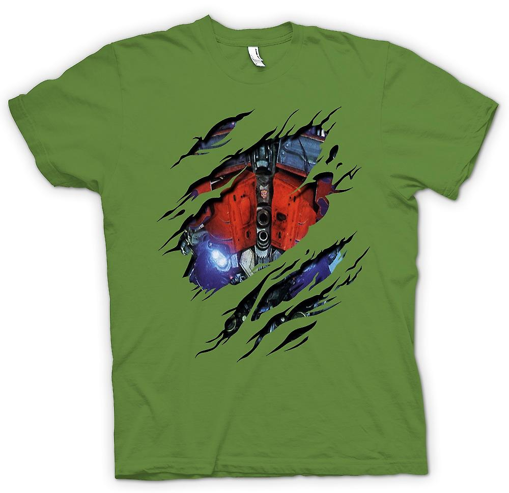 Transformers - Optimus Prime déchiré Design - de mens T-shirt inspirés