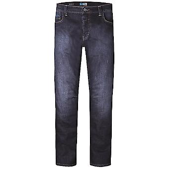 PMJ Blue Voyager - Short Motorcycle Jeans