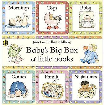 Vauvan iso laatikko vähän kirjoja